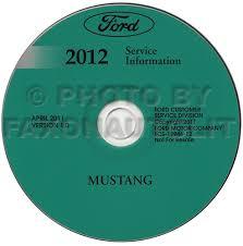 ford mustang wiring diagram manual original 2012 ford mustang repair shop manual on cd rom original 209 00