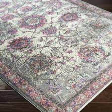 pink and gray area rugs found it at main rug for nursery grey gypsy heirloom ye