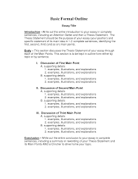 example of a formal outline for an essay sample compare and  cover letter cover letter template for english essay format example outline an essayformal essay format example