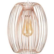 copper ceiling pendant light shade