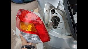 Toyota Yaris Stop Light Bulb How To Replace Rear Light Of Toyota Yaris