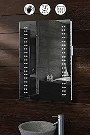 my furniture opticon illuminated led bathroom mirror