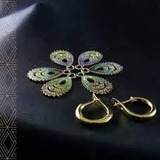 Galani Jewelry - <b>Перо павлина</b> всегда считалось предметом...
