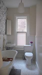 Clawfoot Tub Bathroom Ideas Simple At Last The Upstairs Bathroom Door Sixteen