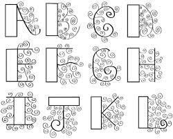 girly bubble alphabet fonts wall graffiti art