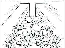 Preschool Coloring Pages Easter Coloring Pages Religious Coloring
