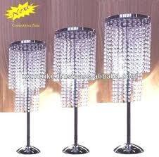 wedding table chandelier centerpiece centerpieces crystal