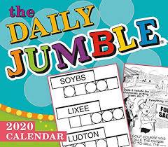 The Daily Jumble 2020 Calendar Sellers Publishing Inc