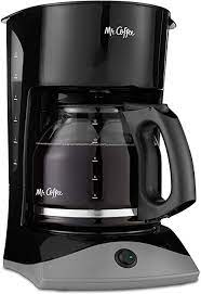 To accomplish this, they typically have to use about 1000 watts. Amazon Com Mr Coffee 12 Cup Coffee Maker Black Drip Coffeemakers Kitchen Dining