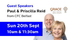"Michael O'Donovan on Twitter: ""Looking forward to hosting and hearing the  Wise, Witty and Prophetic Paul & Priscilla Reid this Sunday 10am & Live on  Facebook & Instagram 11:30am! #IrishLegends #IrishVoices #GraceChurchCork #"