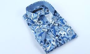 Up To 77 Off On Coogi Mens Button Down Shirts Groupon Goods