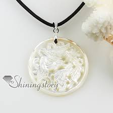 mother of pearl pendant. Round Dragon Cameo Openwork Sea Water White Oyster Shell Mother Of Pearl Necklaces Pendants Design A Pendant