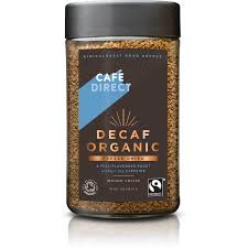 cafédirect clics organic roast decaffeinated instant coffee ethical super