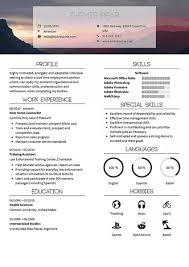 Modern Digital Resume Design Kickresume Perfect Resume And Cover Letter Are Just A