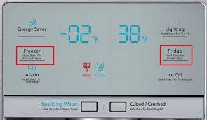 samsung refrigerator temperature settings.  Temperature How Do I Adjust The Temperature In My Four Door Fridge Freezer To Samsung Refrigerator Settings Y