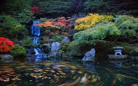 Japanese Garden Japanese Garden Wallpaper Backgrounds Wallpapersafari