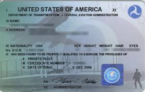 Airman Certification What Is The Wording On Outline Of Wright