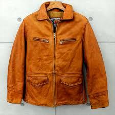 used genuine leather leatherette jacket