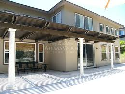 fascinating alumawood patio covers cover style factory direct aluminum orange county wooden furniture