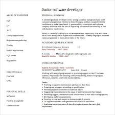 Software Engineer Resume Impressive 60 Software Developer Resumes Sample Templates