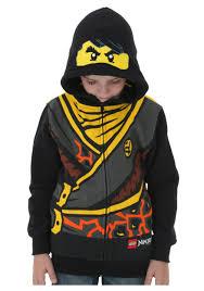 Lego Ninjago Cole Costume Hoodie - Halloween Costumes