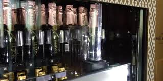 Champagne Vending Machine Vegas Gorgeous Welcome To Happy Hour There's Now A Champagne Vending Machine