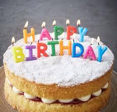 Happy Birthday Images Of Cakes Konditor Cook Happy Birthday Candles