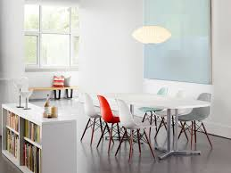 eames molded chair. Eames® Molded Plastic Dowel-Leg Side Chair (DSW) Eames