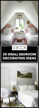 Small Bedroom Furniture Designs 20 Small Bedroom Design Ideas Decorating Tips For Small Bedrooms