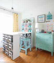 16 Ways To Organize Your Craft Room  Tip JunkieOrganize Craft Room