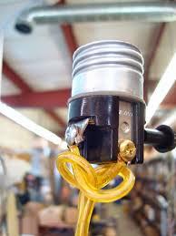 Replace Broken Light Bulb Socket Lamp Parts And Repair Lamp Doctor Repair Tips