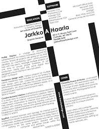8 Creative And Appropriate Resume Templates For The Non Graphic ...
