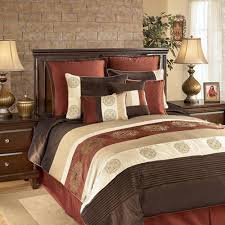 rust colored comforter sets. contemporary comforter a bold striped bedding collection in hues of chocolate brown rust caramel  and sand in rust colored comforter sets n