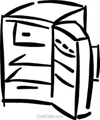 冷蔵庫や冷蔵庫 ロイヤリティ無料ベクタークリップアートイラスト