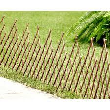 hampton bay expandable willow border