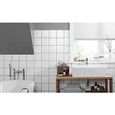 White bathroom tiles Herringbone Wickes White Ceramic Wall Tile 150 150mm Wickes Wall Tiles Wickescouk
