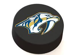3D Printed Nashville Predators logo on ice hockey puck by Ryšard ...