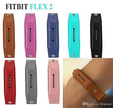 luxury leather watchband strap for fitbit flex 2 fitness tracker genuine leather bracelet watch bands wrist strap iwatch straps rubber watch straps from