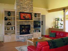 creative stone fireplace shelves home design great cool and interior with built ins aytsaid amazing ideas white in bookcases around electric wall tv