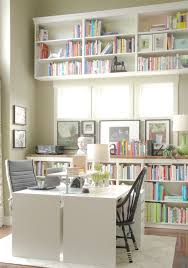 craft room home office design. Contemporary Double Office And Work Space Craft Room Home Design