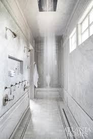 multiple shower heads. long walk in shower for two with multiple heads l