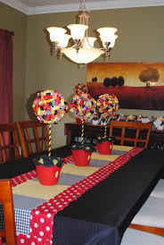 Mickey Mouse Decorations For Bedroom Mickey Mouse Decorations Dining Roommade Table Runner And