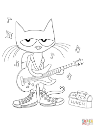 Printable Cat Coloring Pages For Kids With Cat Coloring Pages For