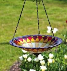 stained glass bird hanging stained glass idea for bird bath stained glass bird bath bowl stained glass bird
