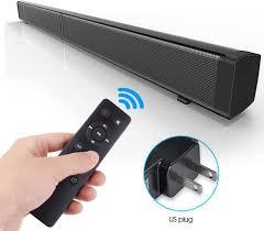 Sound Bar LP-09 Bluetooth Speaker Home Furniture TV Echo Wall Soundbar  Wall-Mounted Remote Control U-Disk : Amazon.ca: Electronics