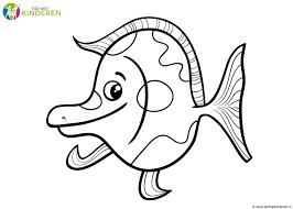 Beste Vissen Tekening Kleur Kleurplaat 2019
