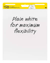 3m Flip Chart Paper Post It Super Sticky Easel Pad 25 X 30 Inches 30 Sheets