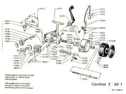 zebco fishing reels okuma reel handles at Okuma Reel Parts Diagram
