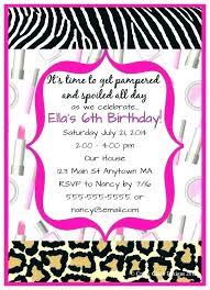 Slumber Party Invitations Email Sleepover Invitation
