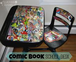 diy comic book desk. DIY Gifts For Comic Book Lovers | Pluckingdaisies.com Diy Desk K